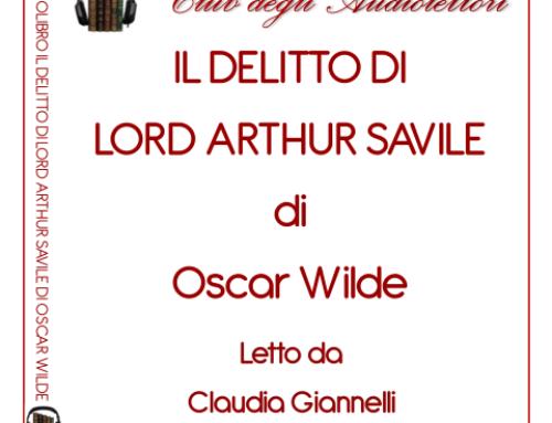 Il delitto di Lord Arthur Savile di Oscar Wilde audiolibro gratis www.LIBRIraccontati.it