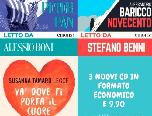 Audiolibri economici a soli € 9,90